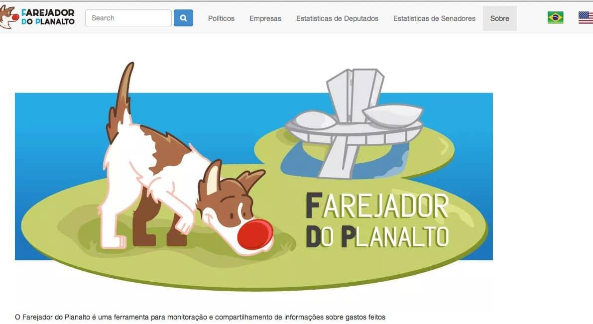 Farejador do Planalto: aplicativo para acompanhar despesas de políticas ganha prêmio do Google