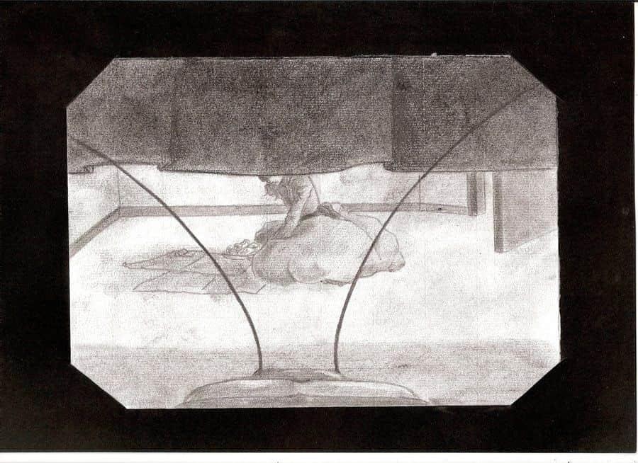"""Ilustração de Laura """"Shaarila90"""" para Metamorfose, de Franz Kafka"""