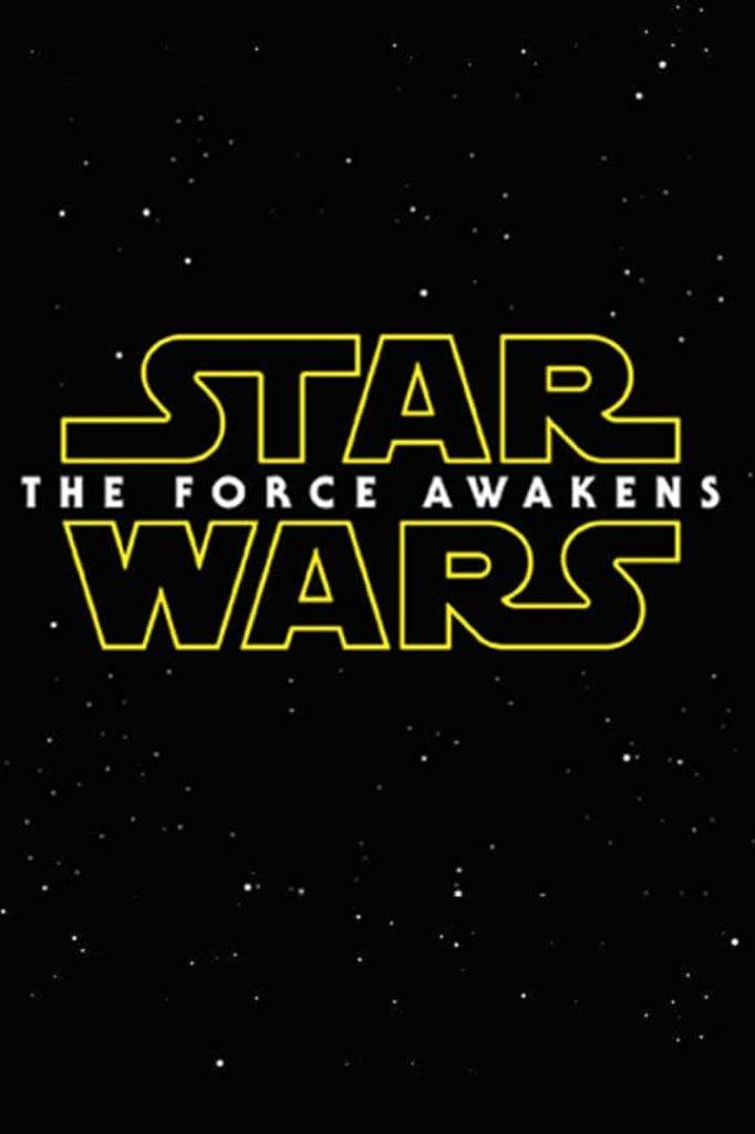 Cartaz Star Wars - The Force Awakens
