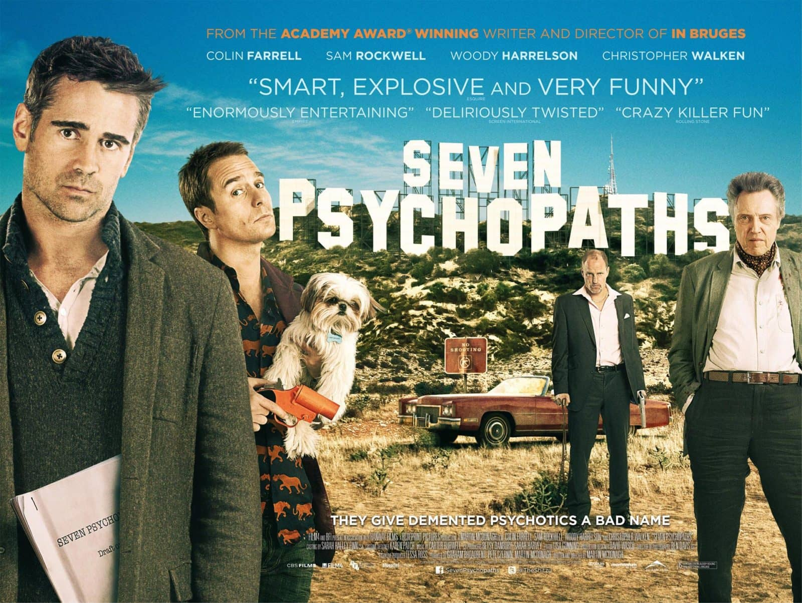 Cartaz de Seven Psychopaths