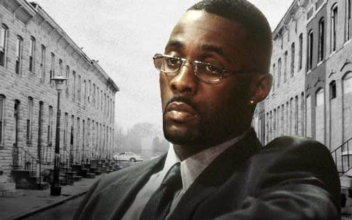 Stringer Bell, personagem de The Wire interpretado por Idris Elba