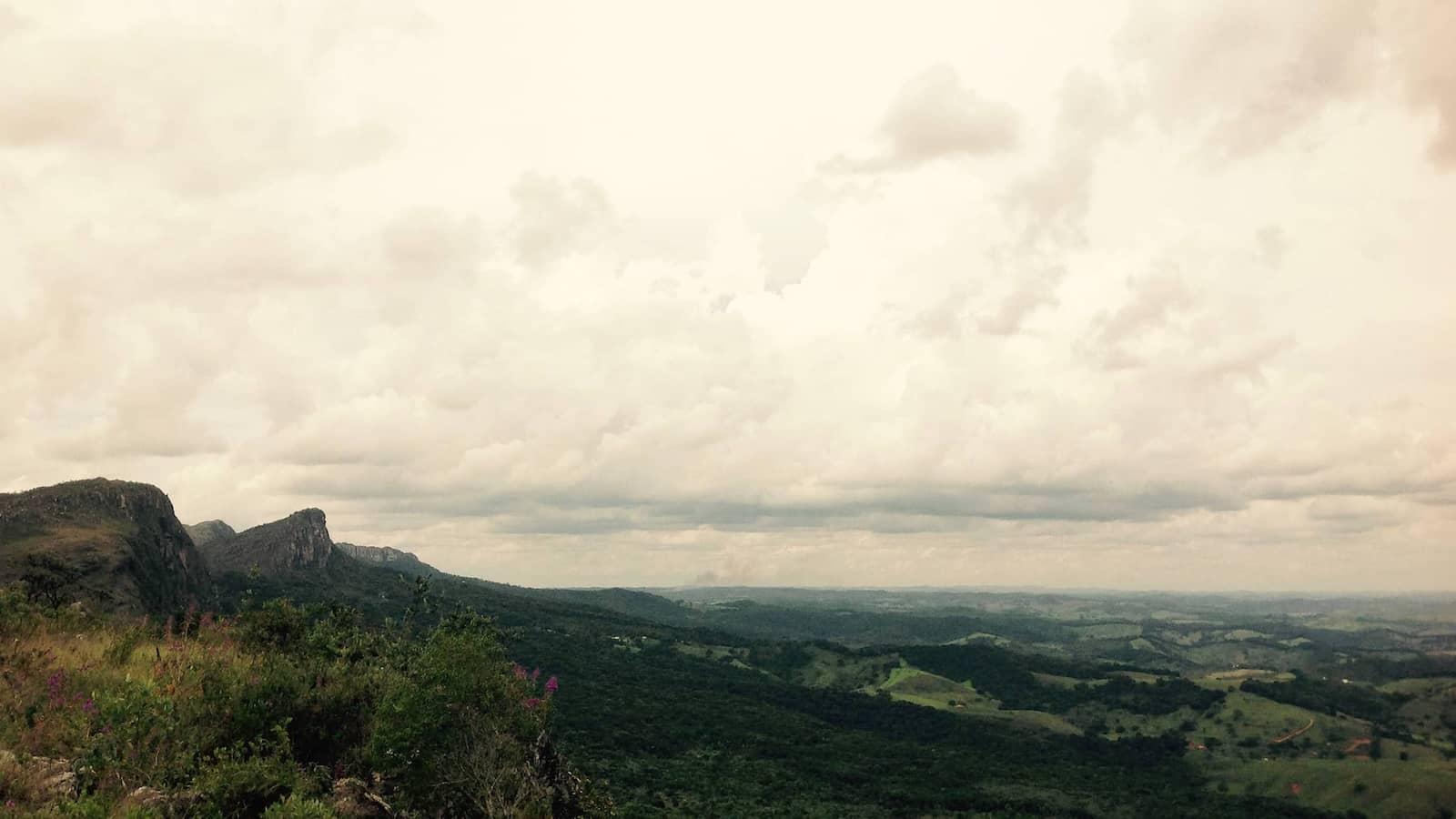 Vista da Serra de São José, em Minas Gerais